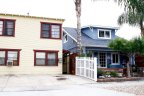Beautiful Blue colored home gives very cozy impression of University Heights Neighborhood
