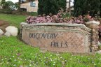 Discovery Hills Sign, the community is popular for being in close proximity to services, stores, restaurants and recreation.