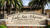 Lake San Marcos Sign is home to residents acquiring comfortable lifestyle, with all the luxuries and amenities in close proximity.