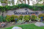 Roadside Marquee of Rancho Dorado