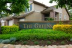 The Greens neighborhood sign in Twin Oaks Valley Ranch