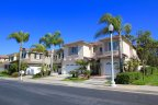 Large two story homes in Lyon Shores Huntington Beach CA