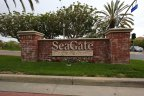 The community marquee for Seagate at Huntington Seacliff