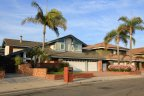 Two story tract homes in Trinidad Island Huntington Beach