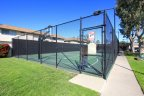 Enclosed basketball court at Village Townhomes