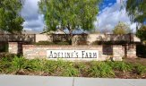 Marquee for Adeline's Farm, located in Winchester Ca