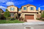 A two story home with excellent curb appeal in Amalfi Hills