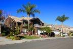 Home Exterior and front yard in Anaheim Ridge Estates
