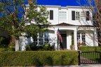 two story white cape cod home in Bayshores, Newport Beach CA