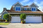 Two story cape cod home front in Beacon Bay, Newport Beach CA