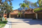 Culdesac of units in Big Canyon, Newport Beach CA