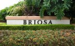Marquee and entrance to the community of Briosa, Laguna Hills CA
