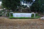 Bryant Ranch Community Marquee in Yorba Linda Ca