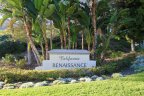 Sign to California Renaissance, an Aliso Viejo community