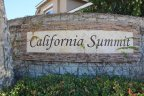 Sign to California Summit, an Aliso Viejo community