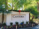 Sign to Cantora, an Aliso Viejo community