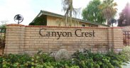 Community Marquee for Canyon Crest in Riverside Ca