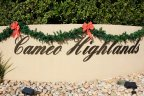 Entrance marquee to Cameo Highlands