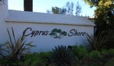 Cyprus Shore community marquee in San Clemente Ca