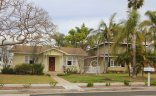 Yellow Cape Cod style single story in Eastside Costa Mesa Costa Mesa