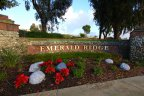 The sign at Emerald Ridge in Dana Point is well maintained