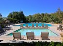 Take a dip in the oversized pool at Greer Ranch