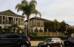 Front exterior to townhomes in Harbor View Hills Corona Del Mar CA