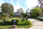 This two level tudor home is located within the Riverside neighborhood of Hawarden Hills