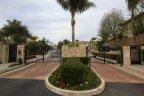 Gates and entrance to Hillcrest Estates, Laguna Niguel CA