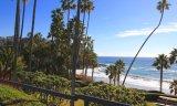 Overlook of park and ocean in Irvine Coast Laguna Beach