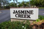 Marquee sign and entrance to Jasemine Creek Corona Del Mar CA