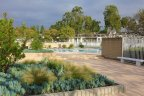 Swimming pool area and common building in Laguna Village, Laguna Hills CA