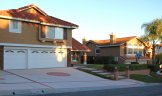 A two story property in Lake Village Estates with custom hardscaping
