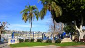 Park and jungle gym area for Lido Isle, Newport Beach CA