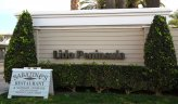 Marquee to entrance of the community Lido Peninsula, Newport Beach CA