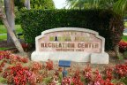 Marquee for recreation center in Marina Hills, Laguna Niguel CA