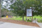 The community park within Meredith Canyon in San Juan Capistrano