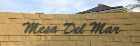 Home located within the community of Mesa Del Mar