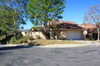 A corner lot single story home in Mesa Vista