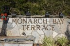 Monarch Bay Terrace Community Marquee located in Dana Point Ca