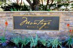 Entrance and stone marquee sign for Montage Laguna Beach