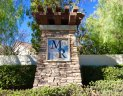entrance sign and marquee to Montecito Ranch Corona CA