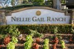Marquee and entrance to the community of Nellie Gail Ranch, Laguna Hills CA