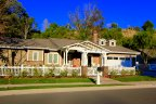 One story cape cod exterior in Nellie Gail Ranch, Laguna Hills CA