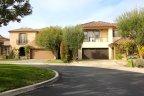 Front exterior to homes inside Newport Ridge Newport Coast CA