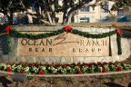 Sign and entrance to Ocean Ranch, Laguna Niguel CA