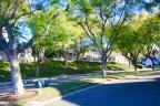 Side view of street in Pointe Quissett in Anaheim Hills CA