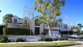 Cape Cod two story home in Port Streets, Newport Beach CA