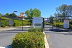 Gated access to the pool, spa, play area in Rancho Highlands