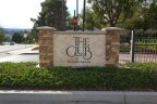 Club sign in Rancho Niguel, Laguna Niguel CA